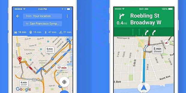 Google Maps bald mit Werbe-Anzeigen