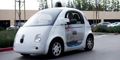 Google-Auto: Fahrer verhinderten Unfälle