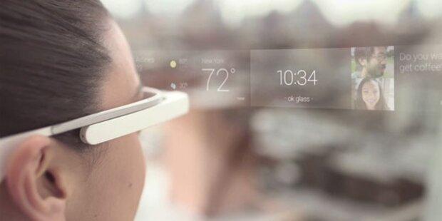 Video: So funktioniert die Google-Brille