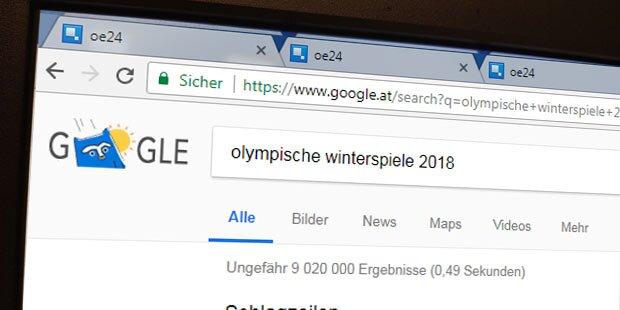 Das googelt Österreich zu Olympia