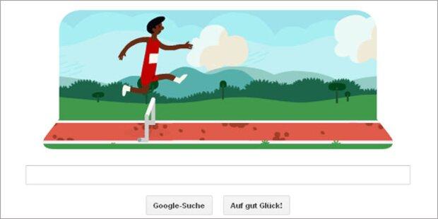 Google begeistert mit Olympia-Doodles