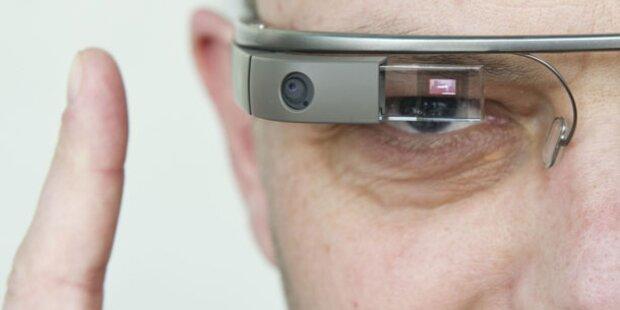 Facebook, Twitter & CNN für Google-Brille
