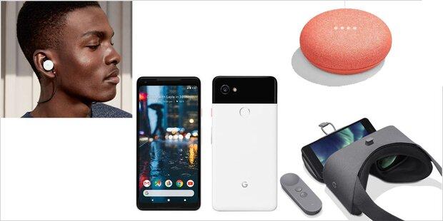 Top-Smartphones, Home Mini, VR-Brille & geniale Kopfhörer