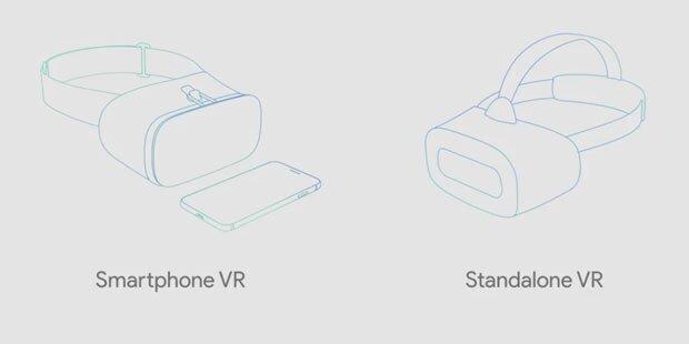Google bringt autarkes VR-Headset