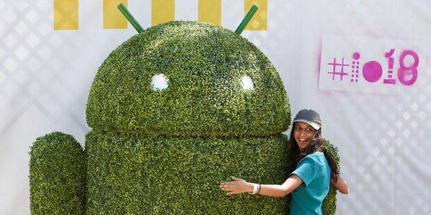 Android 10: Neues Logo, keine Süßigkeit