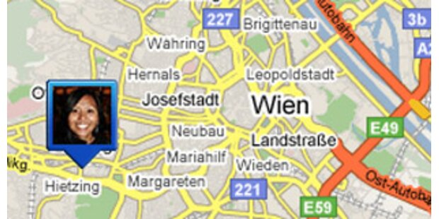 Google Maps zeigt an, wo sich Freunde befinden