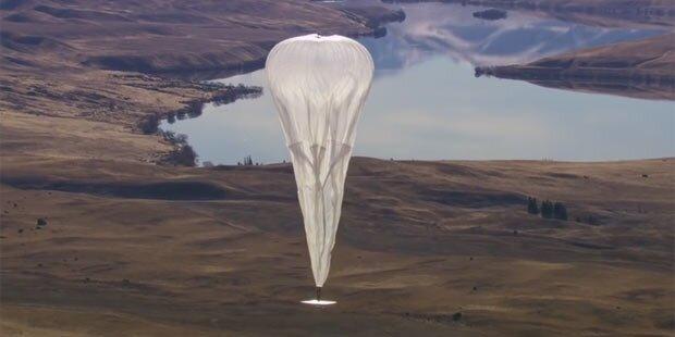 Google startet Handy-Netz mit Ballons