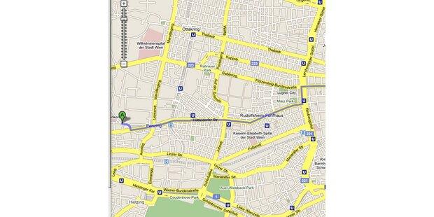 Google Maps bietet Routenplaner für Fußgänger
