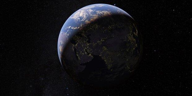 Jetzt ist die Erde auch bei Google rund