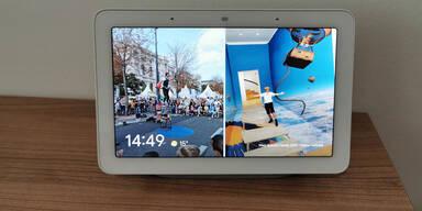 Googles smarter Display-Lautsprecher Nest Hub im Test