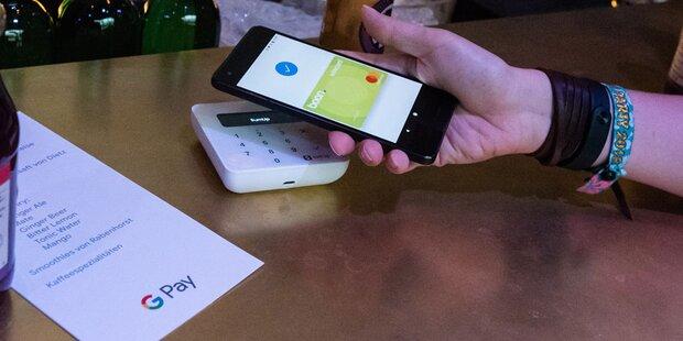 Mobiles Bezahlen bei uns am Vormarsch