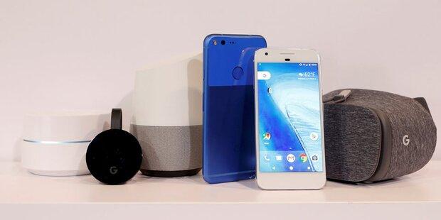 Google-Hardware soll Alltag erobern