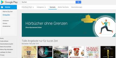 Hörbücher ab sofort im Google Play Store