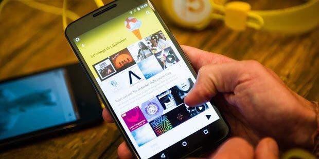 Google Music mit Österreich-Playlisten