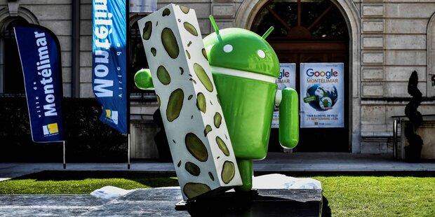 Nougat-Stadt erhält Statue von Google