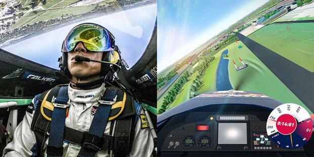 Red Bull Air Race aus Cockpit erleben