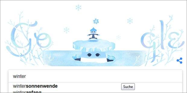 Danach googelt Österreich im Winter