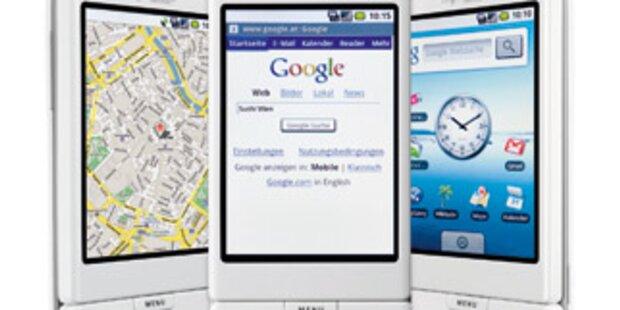 Ab sofort gibt's das neue Google Handy G1
