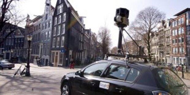 Spitzhacke-Attacke auf Google-Auto