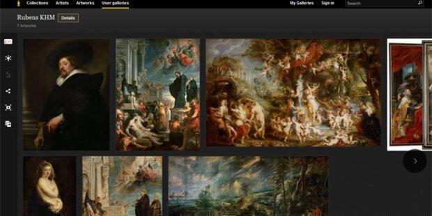 Google zeigt weitere Wiener Kunstschätze