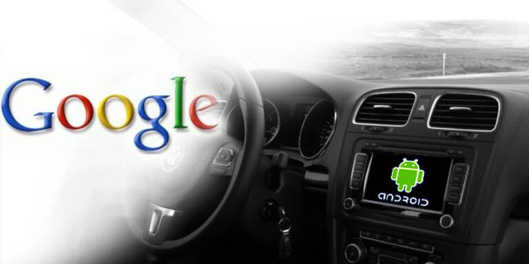 Google-Handy Android soll auch für Autos kommen