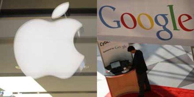 Wertvollste Marken: Google & Apple sind top