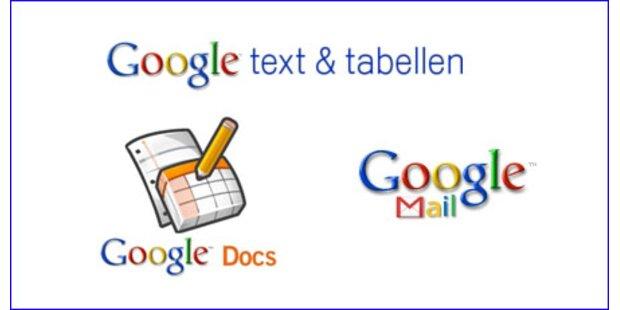 Klassische Werbung für Google Apps