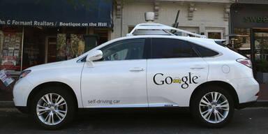 Fahrerlose Autos: Google schafft Durchbruch