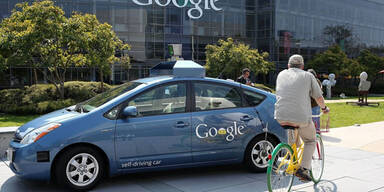 Google-Autos bauten 11 Unfälle