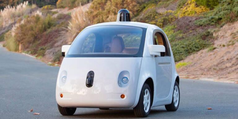 Googles autonomes Auto soll 2015 starten