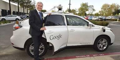 Verkehrsminister testete Google-Auto