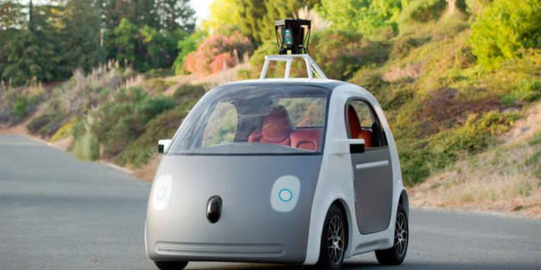 """Googles """"Geisterautos"""" kommen auf Straße"""