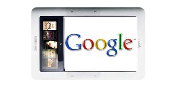 Google startet mit eigenen E-Books