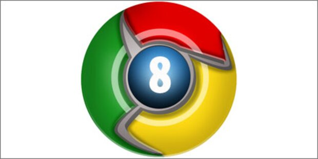 Googles Chrome 8 kostenlos verfügbar