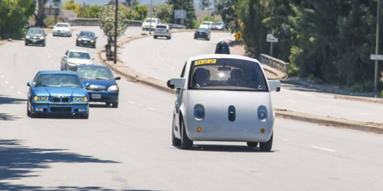 Polizei hielt Googles Roboter-Auto an