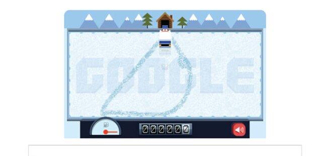 Google begeistert mit interaktivem Doodle