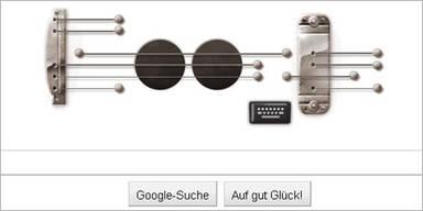 Google macht sein Doodle zur E-Gitarre