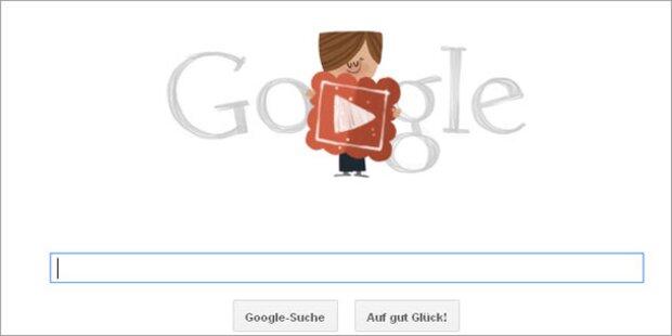 Witziges Google-Doodle zum Valentinstag