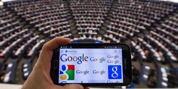 EU-Parlament für Google-Aufspaltung