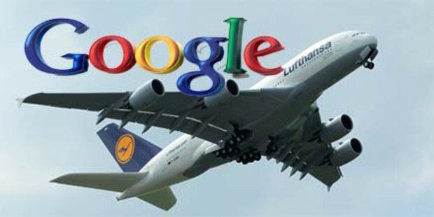 Google vereinfacht die Flugticket-Suche