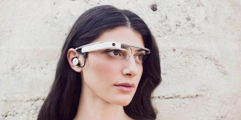 Google zeigt seine neue Daten-Brille