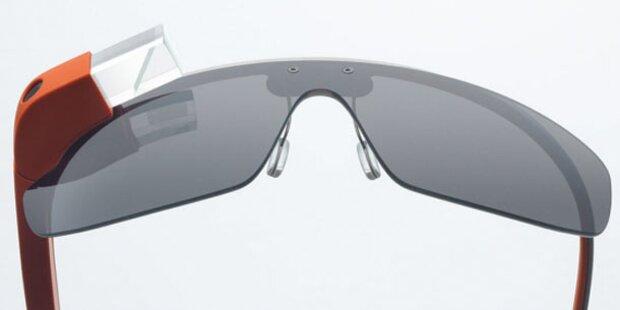 Die technischen Daten der Google-Brille