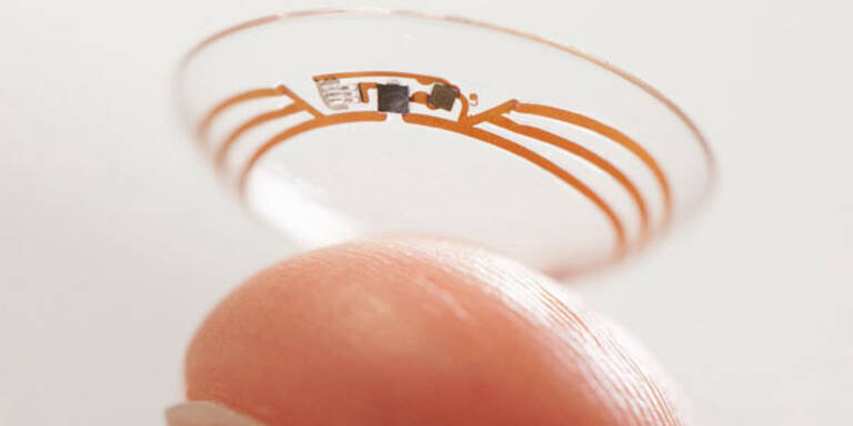 Google: Smarte Kontaktlinse für Diabetiker