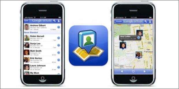 Geo-Dienst Latitude als iPhone App