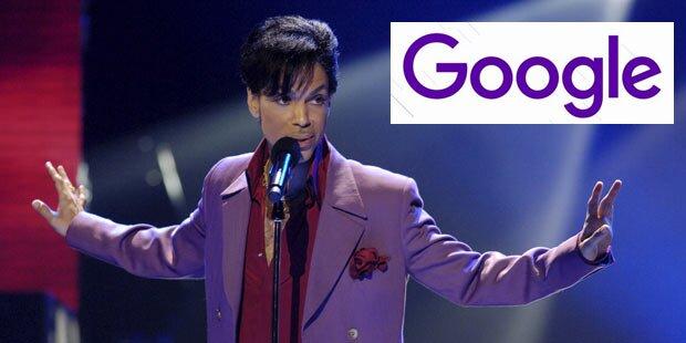 Google ändert für Prince sein Logo