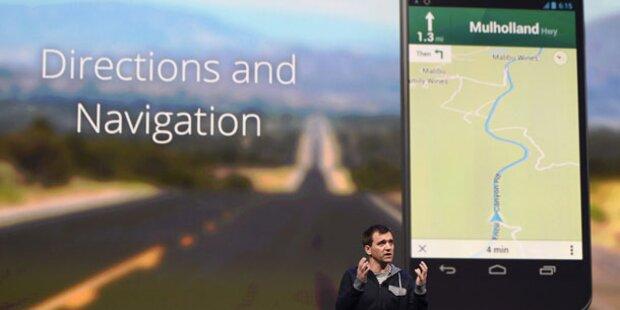 Google baut Waze in Kartendienst Maps ein
