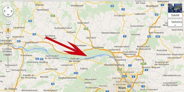 Google Maps kennt Donau nicht mehr