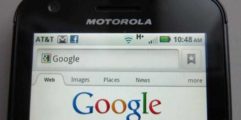 Google streicht 1.200 Jobs bei Motorola