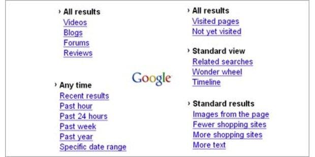 Google verbessert seine Suchmaschine