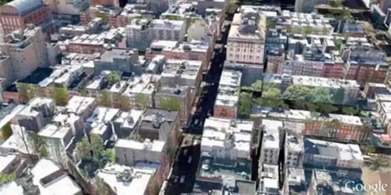 Google Earth-Video: Ganz New York in 3D
